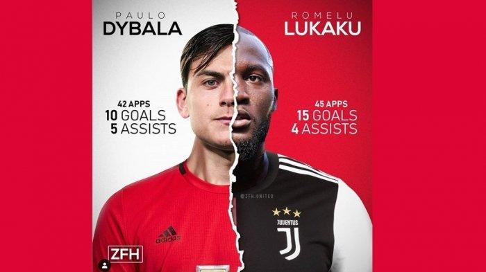Manchester United Dikabarkan Mencapai Kesepatakan Lisan Pembelian Paulo Dybala, Bagaimana Lukaku?
