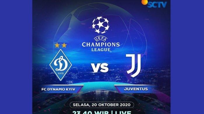 Live Streaming Sctv Dynamo Kyiv Vs Juventus Juve Masih Tanpa Ronaldo Ini Susunan Pemainnya Warta Kota