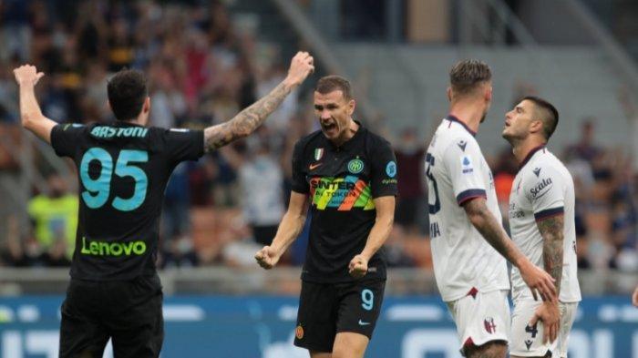 Hajar Bologna 6-1, Inter Milan Cetak Rekor Kemenangan Terbesar dan Pimpin Klasemen Sementara