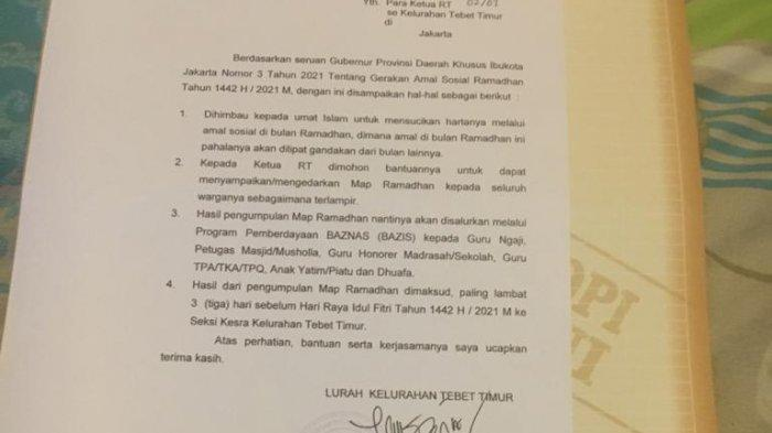 Gubernur Anies Sebar Map Ramadahan Jaring Zakat dari Warga, Dikumpulkan Maksimal H-3 Lebaran