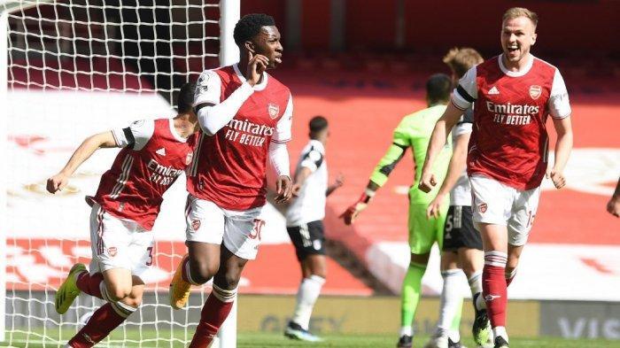 Prediksi Line Up Arsenal vs Everton, Aubameyang dan Lacazette Absen, Andalkan Eddie Nketiah Lagi
