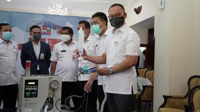 Sekjen PAN Berikan Bantuan Ventilator dan 5.000 Masker untuk RSUD Kota Bogor
