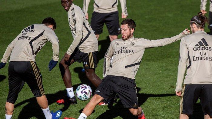 Striker Real Madrid Eden Hazard Lebih Senang Buat Assist