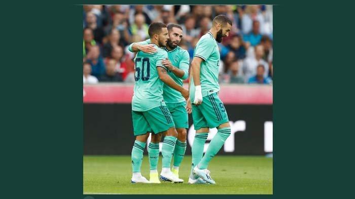 Eden Hazard Lega Akhirnya Cetak Gol Untuk Real Madrid