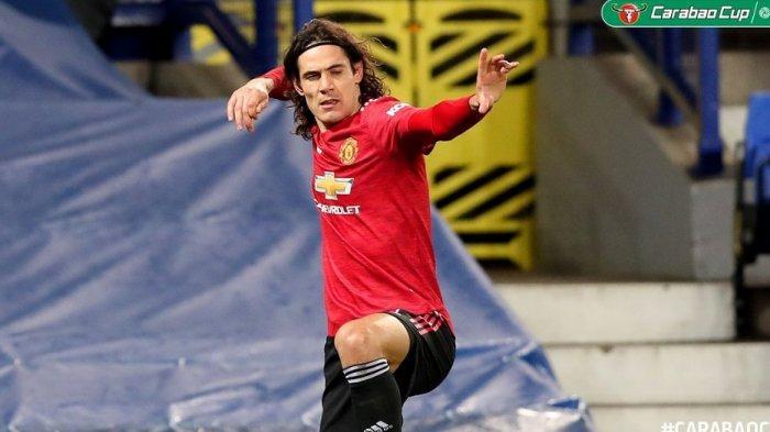 Live Streaming dan Prediksi Pemain Manchester United vs West Ham, Setan Merah Andalkan Cavani