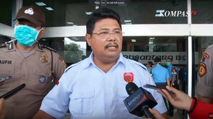 Panik Gedung DPR Kebakaran, Edison Manurung Tinggalkan Bamsoet di Lantai 9 Nusantara III DPR/MPR RI