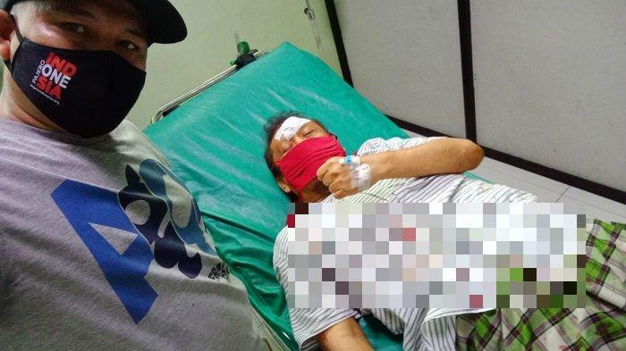 Mengantuk, Eggi Sudjana Kecelakaan Tunggal di Cibinong