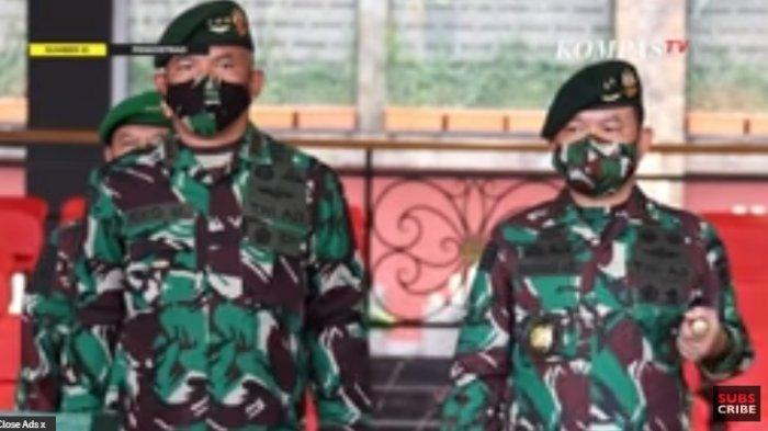 Mayjen TNI Dudung Abdurachman Resmi Menjabat Pangkostrad, Letjen Eko Margiyono Geser Jadi Kasum TNI