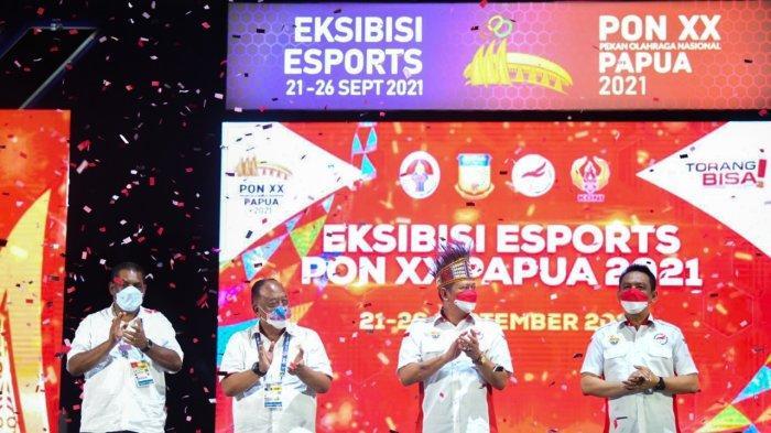Bamsoet Tutup Eksibisi Esports PON XX, Minta Atlet Lebih Atraktif, Kreatif dan Berprestasi