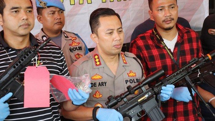 PEGAWAI BUMN Ubah Air Softgun Jadi Senjata Api, Ancaman Hukuman Mati Menanti
