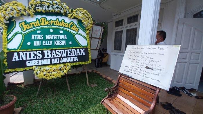 Elly Kasim Meninggal Dunia, Gubernur DKI Jakarta Anies Baswedan Kirim Karangan Bunga Duka Cita