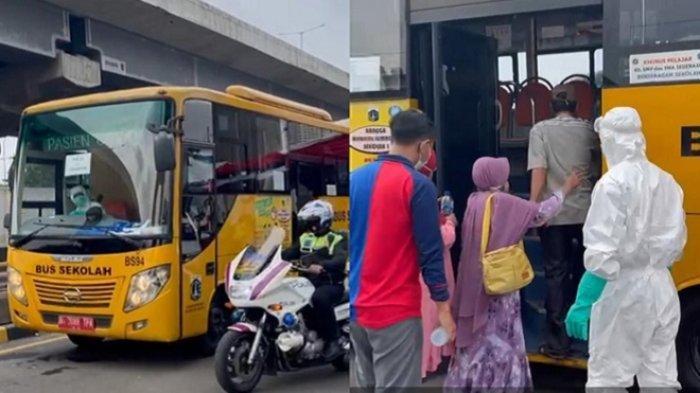 Penyekatan di KM 34 Cibatu, Empat Warga Cirebon Reaktif Covid-19 Dibawa ke RS Wisma Atlet Kemayoran