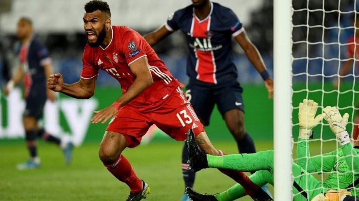 Seru, Hasil Babak Pertama PSG vs Bayern 0-1 Lewat Gol Eric Maxim Choupo-Moting, Agregat 3-3