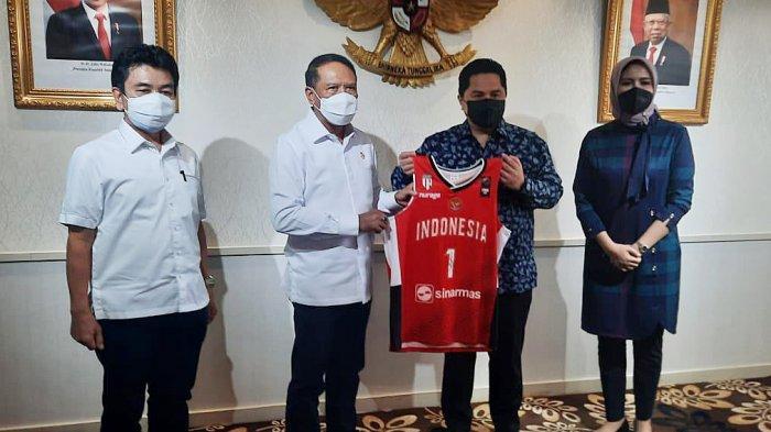 Jelang Piala Dunia Basket 2023, Central Board of FIBA Erick Thohir Berencana Buat Venue di Area GBK