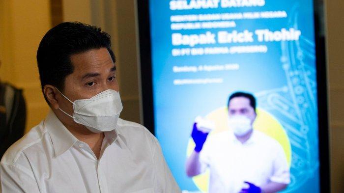 Ada Transfer Pengetahuan dan Teknologi dengan Sinovac, Erick Thohir: Bio Farma Bukan Tukang Jahit