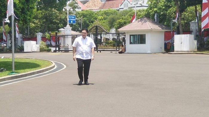 Erick Thohir Bakal Jadi Menteri Jokowi di Bidang Ekonomi, Sempat Bilang Tak Tertarik Masuk Kabinet
