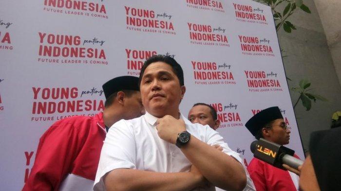 Jokowi dan Prabowo Bertemu di MRT,  Erick Tohir dan Sandi Bertemu di Kemang, Erick: Ini Jalan Tuhan