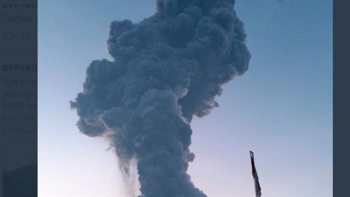 Breaking News: Sejumlah Penerbangan Dibatalkan Akibat Erupsi Gunung Raung