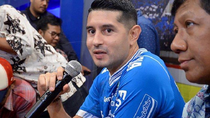 Esteban Vizcarra Sudah Seperti Jimat Buat Persib Bandung, Setiap Kali Dia Main Maung Bandung Menang