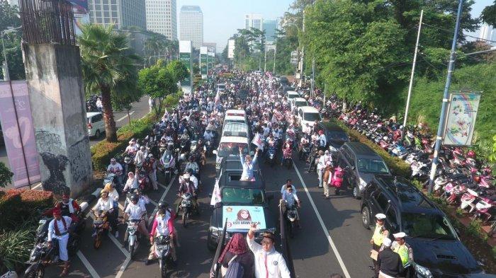 Pileg 2019, Caleg Wanita Ini Dikawal Jawara Betawi Untuk Dapat Kursi DPRD DKI 2019