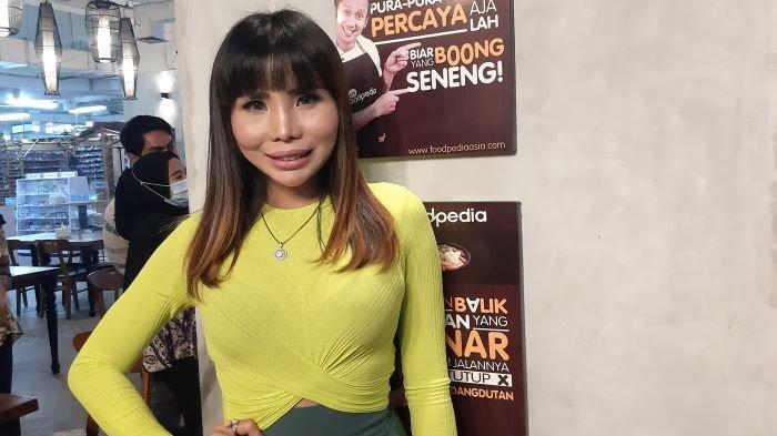 Eva Belisima ketika ditemui di Apartemen Thamrin City, Tanah Abang, Jakarta Pusat, Kamis (14/1/2021).