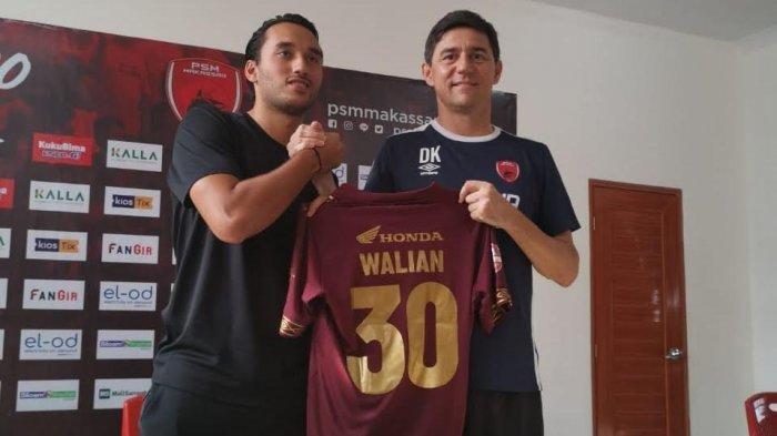 Ezra Walian Merapat, PSM Makassar Tambah Jumlah Pemain Naturalisasinya Samai Bali United