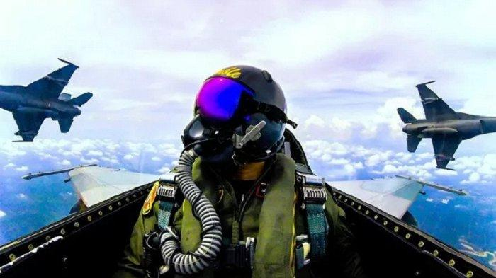TNI AU Terbangkan Empat F-16 ke Natuna Riau, Pangkalan TNI AU Roesmin Nurjadin Siaga