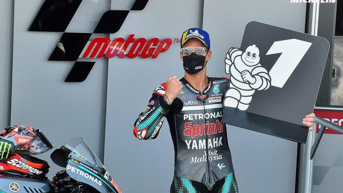 Link Live Streaming MotoGP Portugal, Fabio Quartararo Pole Position, Marc Marquez Urutan Enam