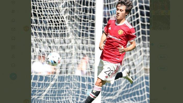 Facuindo Pellistri Bikin Gol Indah Saat Manchester United Gebuk Derby County 2-1, Siapa Pellistri?