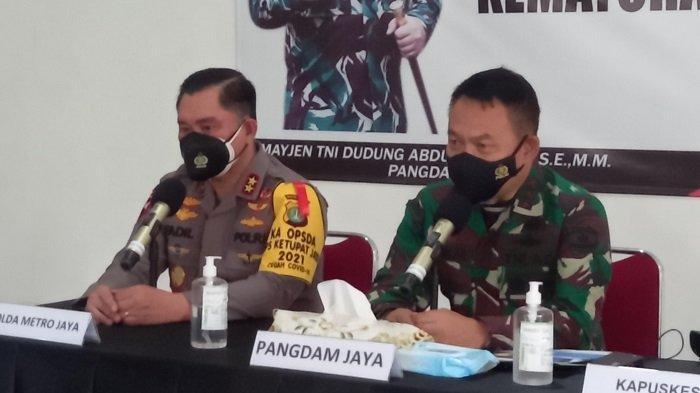Kapolda Metro dan Pangdam Jaya Pantau Kesiapan Wisma Atlet Antisipasi Lonjakan Covid-19  Arus Mudik