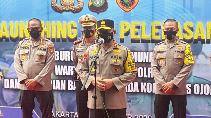 VIDEO Kapolda Metro Jaya Irjen Fadil Imran Luncurkan Ojol Pemburu Covid