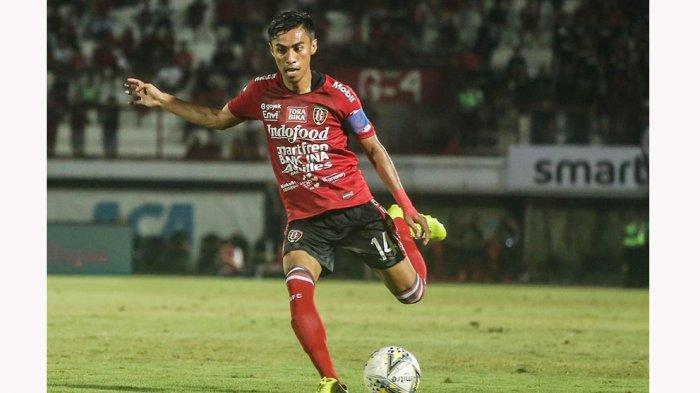 Fadil Sausu Kapten Tim Bali United Merasa Bugar Dengan Kondisi Fisiknya, Walaupun Liga 1 Terhenti