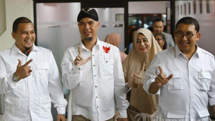 Prabowo Masuk Kabinet, Ahmad Dhani dan Lieus Sungkharisma Kini Kawal Pemerintahan Jokowi-Ma'ruf?