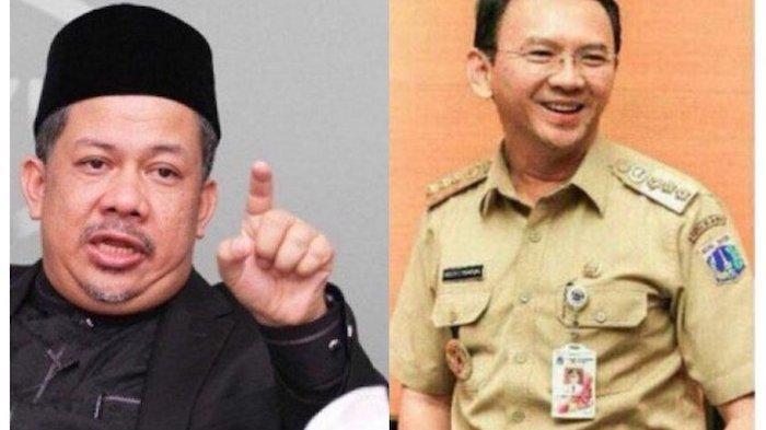Mendadak Fahri Hamzah Komentari Sikap Emosi Ahok BTP ke Warganya saat Masih Menjabat Gubernur DKI