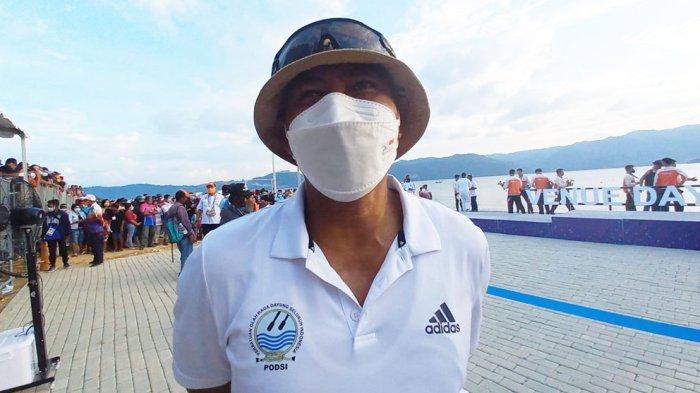 Pelatih tim dayung Jawa Barat, Fahrudin