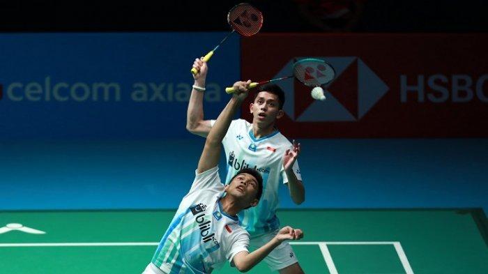 Fajar/Rian Masuk Final Korea Open Setelah Tumbangkan Menara Kembar Tiongkok