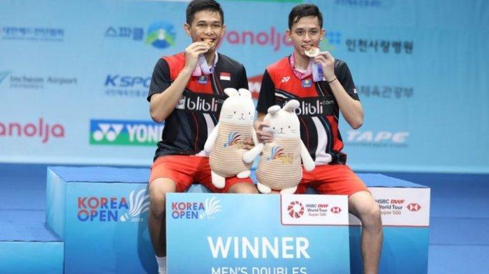 Ini 5 Fakta Menarik Seputar Kemenangan Fajar/Rian di Korea Open 2019