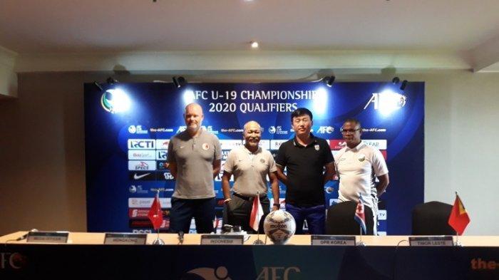 Jelang Kualifikasi Piala AFC U-19 2020, Fakhri Husaini Lakukan Perubahan Komposisi Pemain