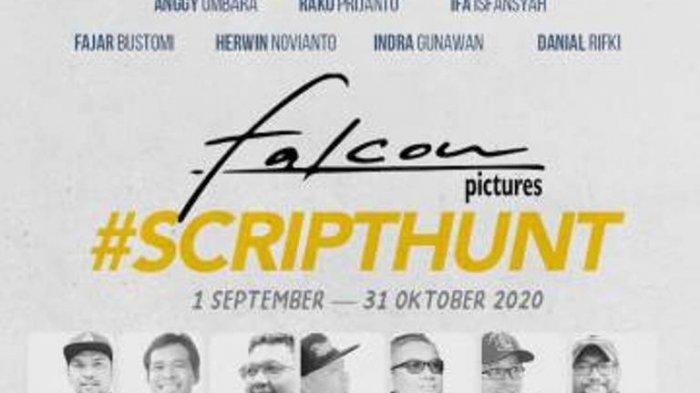 Kompetisi Falcon Script Hunt bertema Cerita Hidup ini diselenggarakan mulai Selasa (1/9/2020) sampai 31 Oktober 2020.