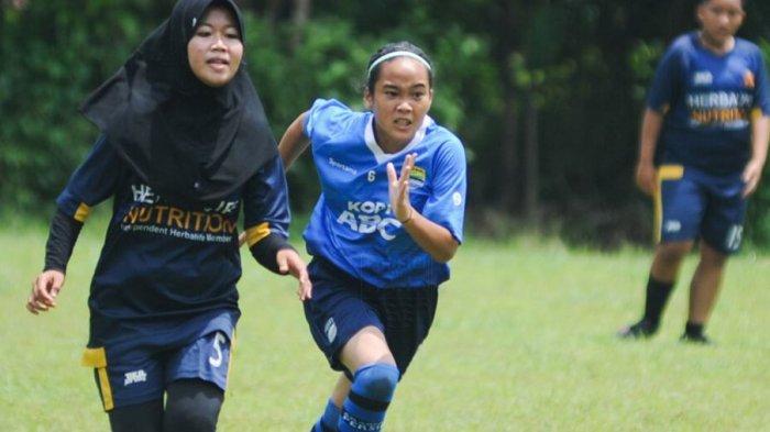 Fanny Saputri Nikmati Adaptasi Bersama Akademi Persib Putri Dibawah Bimbinga Iwan Bastian