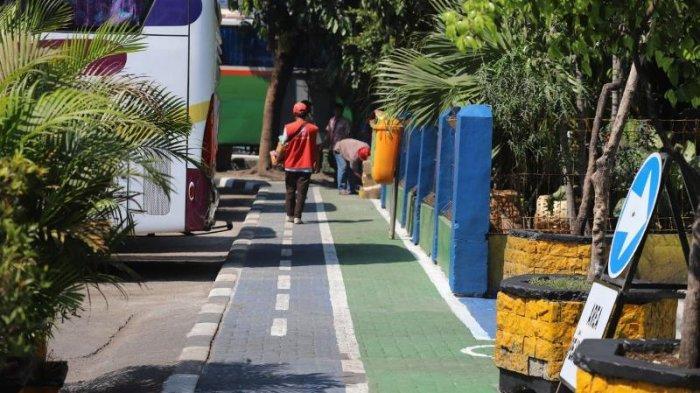 Pengerjaan Fasilitas Bike and Ride Terminal Tanjung Priok Baru Capai 60 Persen