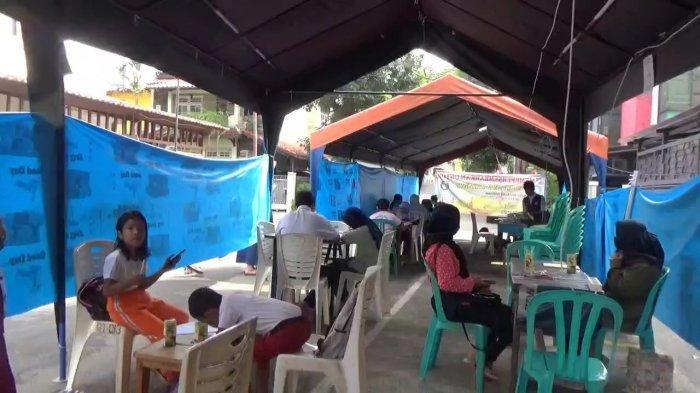 Tenda WiFi Gratis Banyak Dikunjungi Pelajar dari Luar RT 13 Pondok Kelapa, Duren Sawit Jakarta