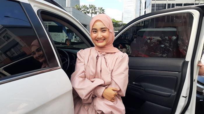 Fatin Shidqia Lubis di TransTV, Mampang Prapatan, Jakarta Selatan, Sabtu (16/1/2021).