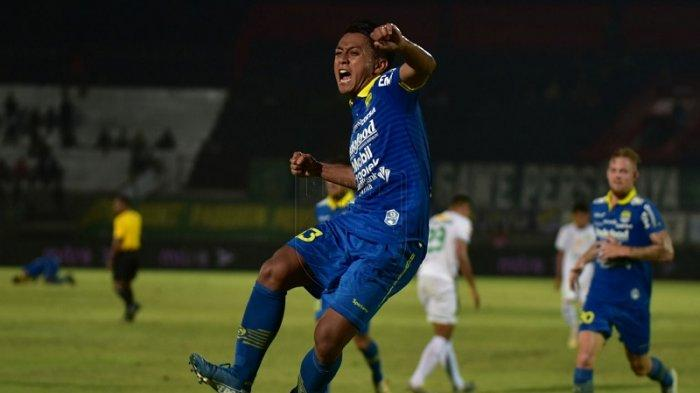 Febri Hariyadi Ingin Cetak Hatrick Saat Persib Berhadapan dengan Persebaya Surabaya