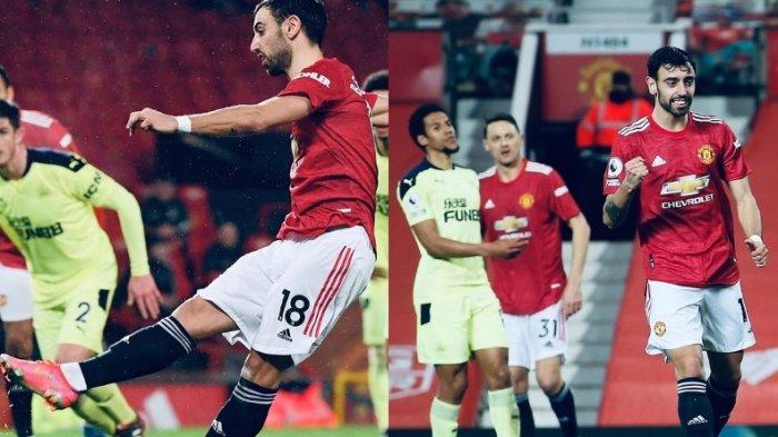 Hasil Lengkap dan Klasemen Liga Inggris, Gebuk Newcastle 3-1, Manchester United Kembali ke 2 Besar