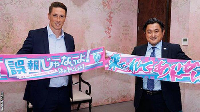 Fernando Torres Resmi Gabung Klub dari Jepang