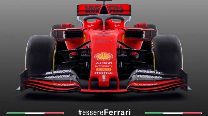 Ferrari Rilia Kendaraan Baru Sebastian Vettel