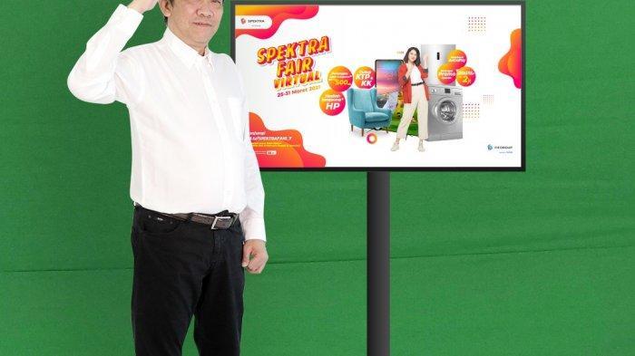 Peresmian SPEKTRA FAIR oleh CEO FIFGROUP Margono Tanuwijaya, yang akan dilaksanakan pada tanggal 25-31 Maret 2021 secara virtual sebagai bentuk upaya FIFGROUP dalam memberikan kenyamanan transaksi kepada pelanggan di kondisi wabah virus corona saat ini.