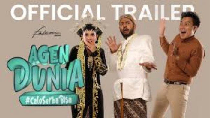 Baim Wong, Onadio Leonado dan Clara Berrnadeth bermain film Agen Dunia. Falcon Pictures merilis poster dan trailer film Agen Dunia yang akan tayang di platform digital Disney Plus Hotstar mulai 5 Februari 2021.