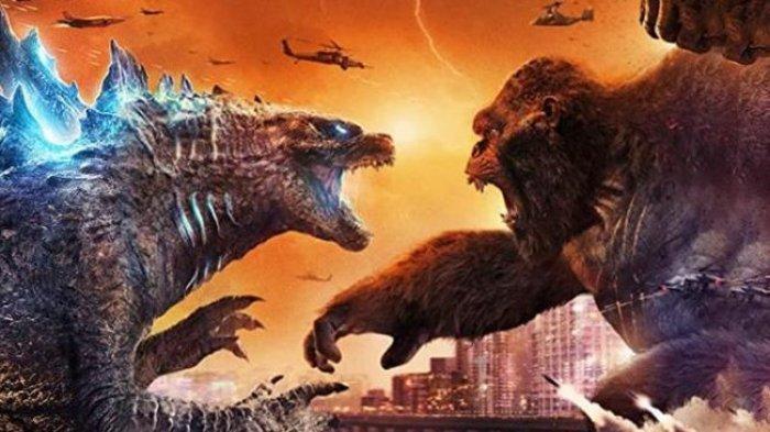 Film Godzilla vs Kong yang sempat diputar di bioskop ini disiarkan streaming di platform Catchplay+ saat Hari Raya Idul Fitri 2021.